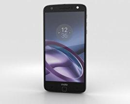 Motorola Moto Z Black Gray 3D model