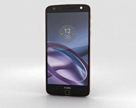 Motorola Moto Z Black Rose Gold 3D model