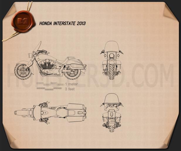 Honda Interstate 2013 Blueprint