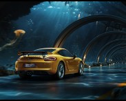 Porsche – Underwater road