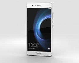 Huawei Honor V8 Silver 3D model
