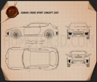 Subaru Cross Sport 2013 Blueprint