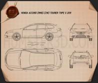 Honda Accord (CW) tourer Type S 2011 Blueprint
