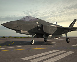 Lockheed Martin F-35 Lightning II 3D model