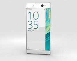 Sony Xperia XA Ultra White 3D model