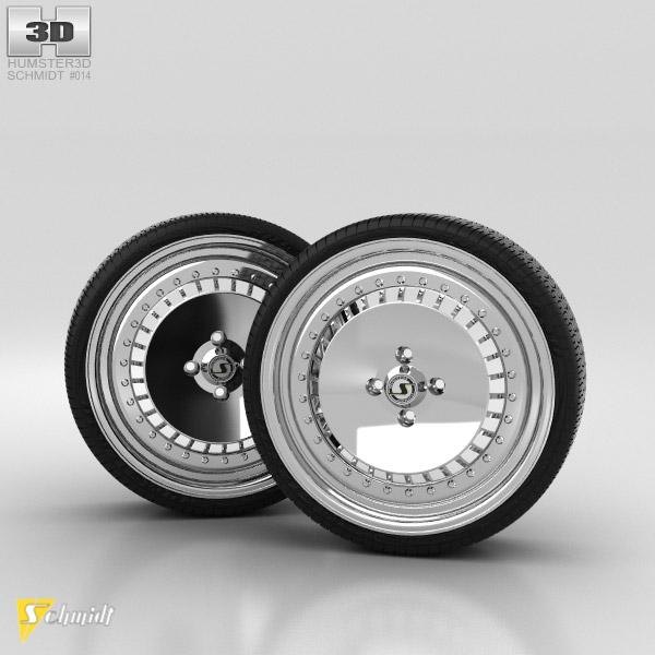 schmidt th line 17 zoll 3d model car parts on hum3d. Black Bedroom Furniture Sets. Home Design Ideas