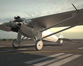 Spirit of St. Louis 3D model