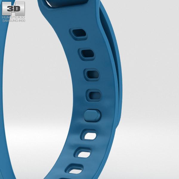 samsung gear fit 2 blue 3d model hum3d. Black Bedroom Furniture Sets. Home Design Ideas