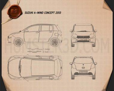 Suzuki A:Wind 2014 Blueprint