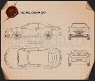 Vauxhall Cascada 2013 Blueprint