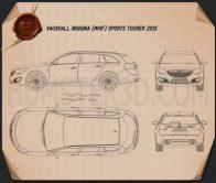 Vauxhall Insignia Sports Tourer 2013 Blueprint