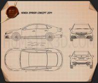Honda Spirior 2014 Blueprint