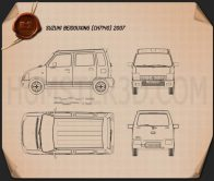 Suzuki Beidouxing 2007 Blueprint