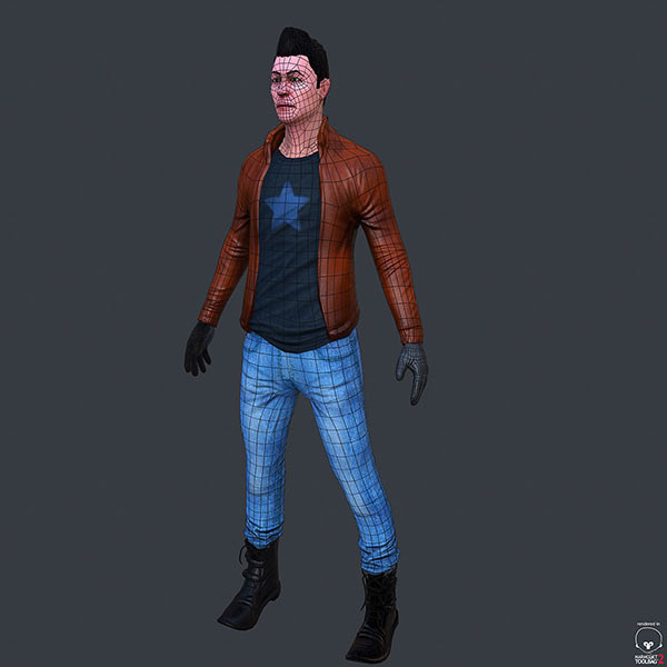 game character low poly download free 3d models