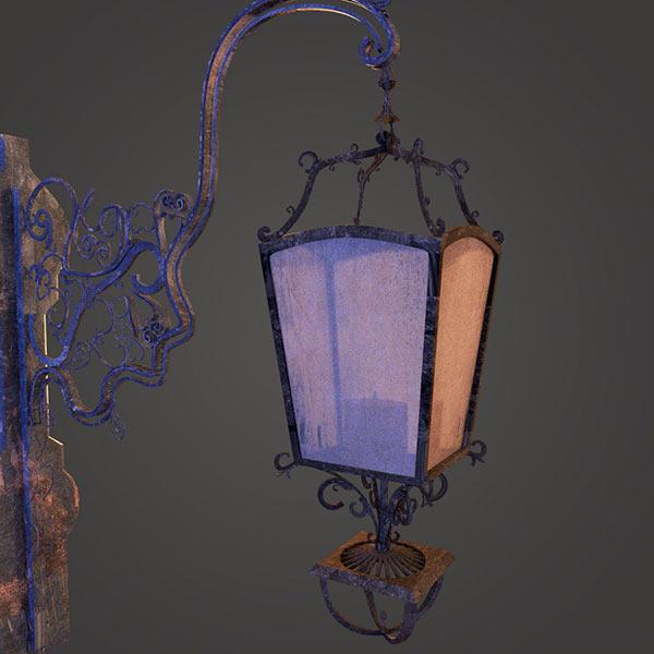 Victorian Lantern 3d model