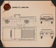 Chevrolet El Camino 1959 Blueprint