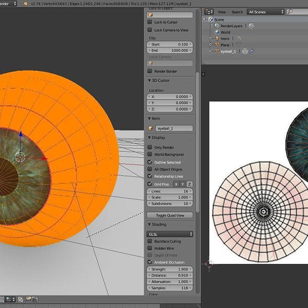 Eyeball Download Free 3D models