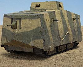 A7V Sturmpanzerwagen 3D model