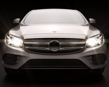 Mercedes Class E W213 Launch Visual Projection
