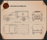 Ford Super Duty 8 Series 2011 Blueprint