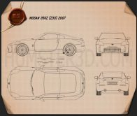 Nissan 350Z (Z33) 2007 Blueprint