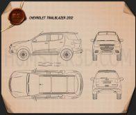 Chevrolet Trailblazer 2012 Blueprint