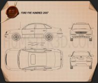 Ford Five Hundred 2007 Blueprint