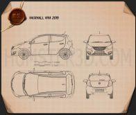 Vauxhall Viva 2015 Blueprint