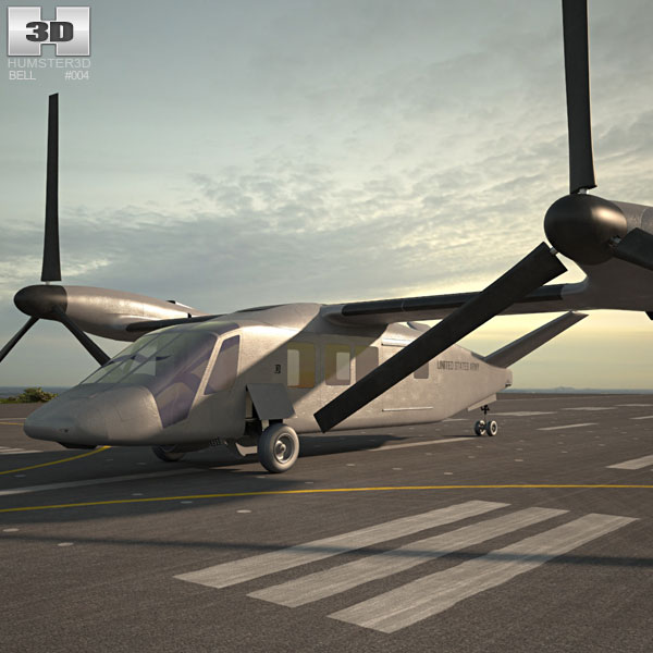 Discount Car Parts >> Bell V-280 Valor 3D model - Aircraft on Hum3D