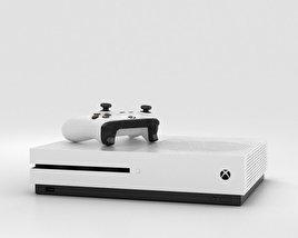 Microsoft Xbox One S 3D model