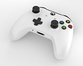 Microsoft Xbox One S Controller 3D model