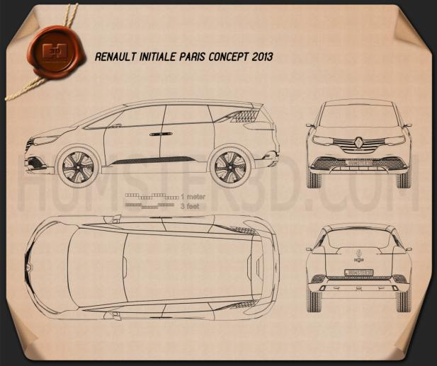 Renault Initiale Paris 2013 Blueprint