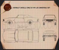 Chevrolet Chevelle SS 454 LS5 convertible 1971 Blueprint