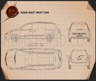 Nissan Quest 2006 Blueprint