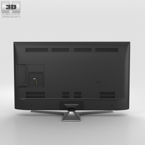 samsung led j550d smart tv 3d model hum3d. Black Bedroom Furniture Sets. Home Design Ideas