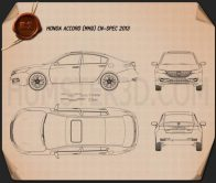 Honda Accord (CN) 2013 Blueprint