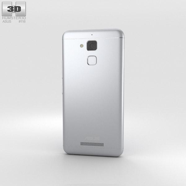 Asus Zenfone 3 Max Glacier Silver 3D Model