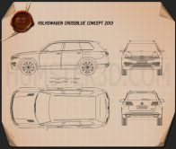 Volkswagen CrossBlue 2013 Blueprint