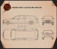 Mercedes-Benz E-Class Binz Xtend 2012 Blueprint