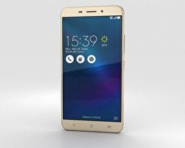 Asus Zenfone 3 Laser Sand Gold 3D model
