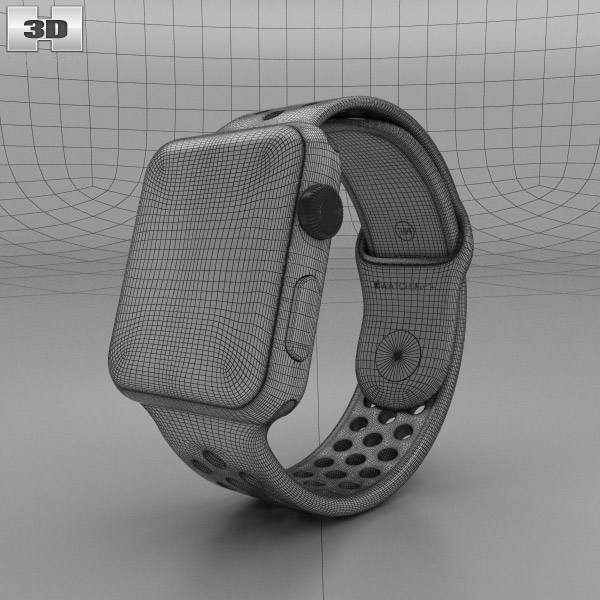 apple watch nike 42mm space gray aluminum case black cool nike