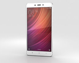Xiaomi Redmi Note 4 Silver 3D model
