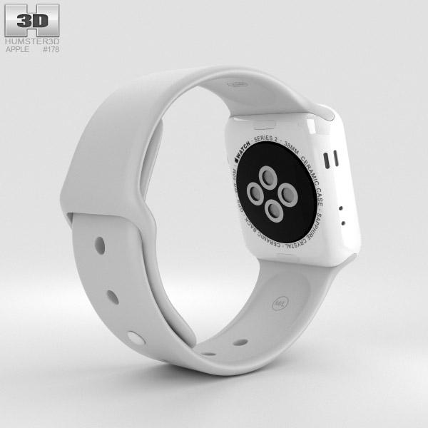 Apple Watch Edition Series 2 38mm White Ceramic Case Cloud ...