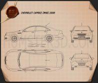 Chevrolet Caprice 2006 Blueprint