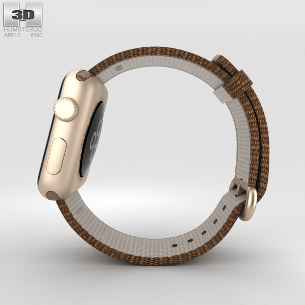 Apple Watch Series  Gold Aluminum With Toasted Coffee