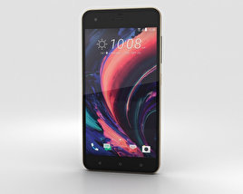HTC Desire 10 Pro Stone Black 3D model