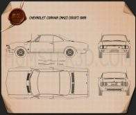 Chevrolet Corvair 1965 Blueprint