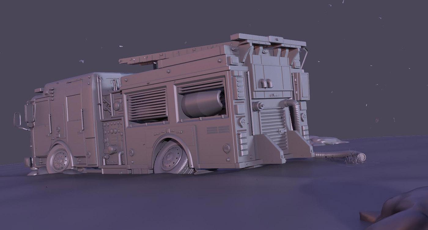WIP Fire Truck