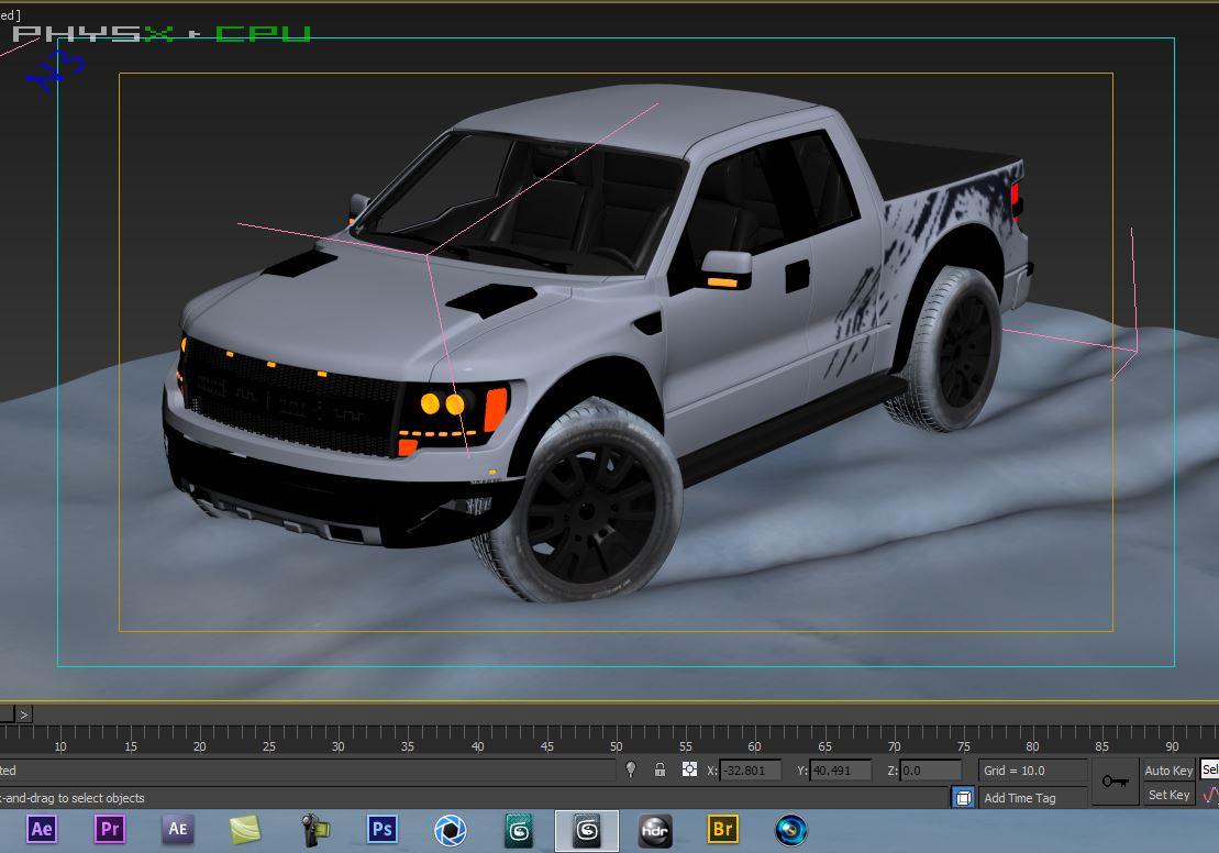 WIP Ford F-150 SVT Raptor