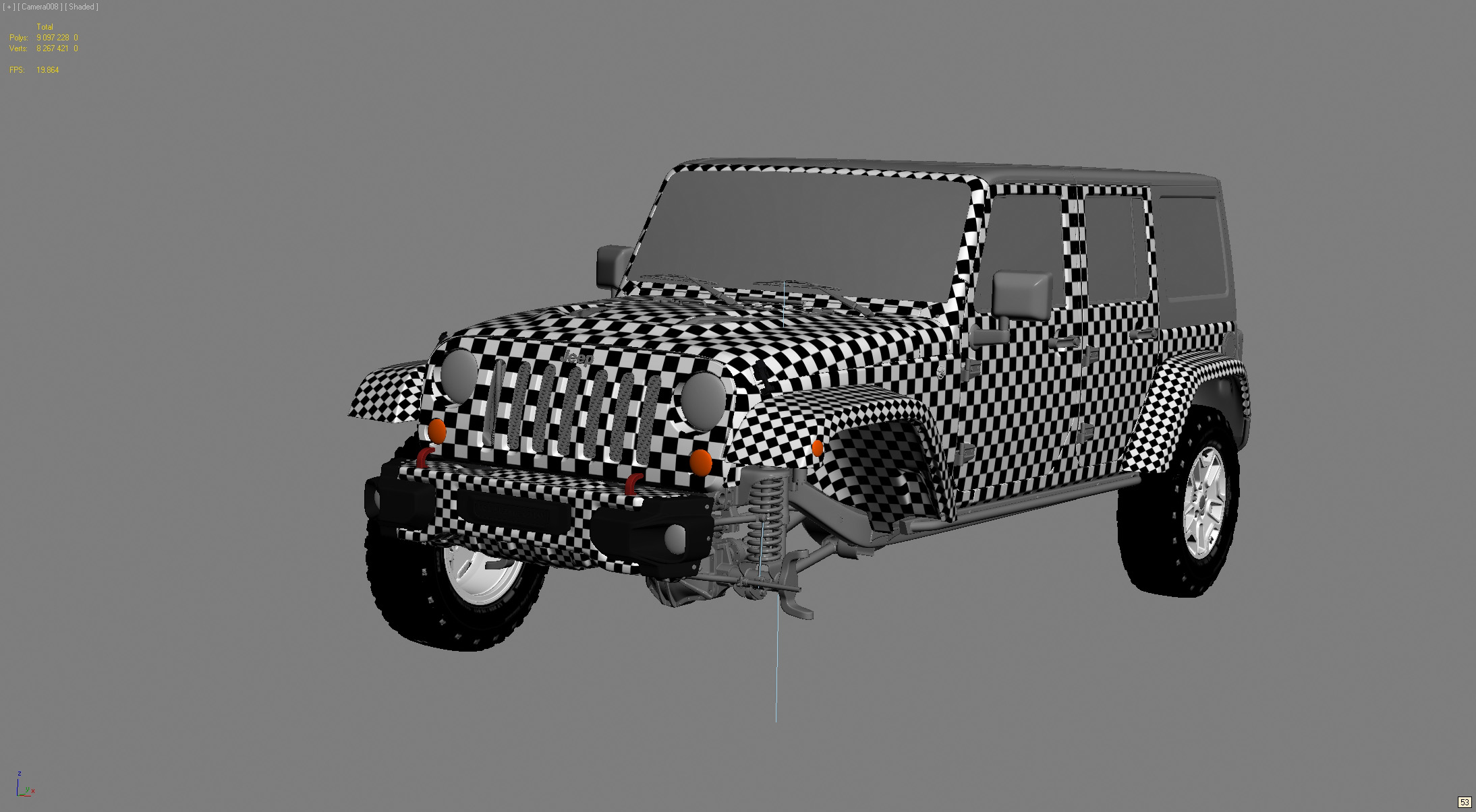 WIP Jeep Rubicon 10th Anniversary